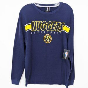 Denver Nuggets NBA Thermal Waffle Top NEW Men's M